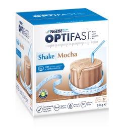 Optifast VLCD Milk Shake (Mocha) 53g X 12