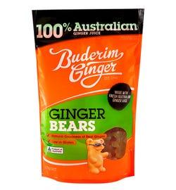 Buderim Ginger Ginger Bears 175g