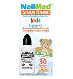 NeilMed Kids Starter Kit (Squeeze Bottle + Premixed Sachets X 30)