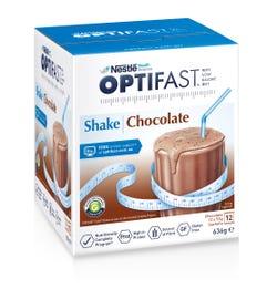 Optifast VLCD Milk Shake (Chocolate) 53g X 12