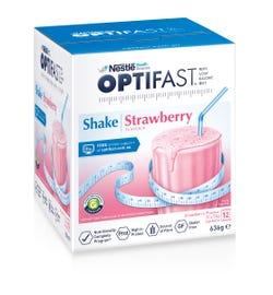Optifast VLCD Milk Shake (Strawberry) 53g X 12
