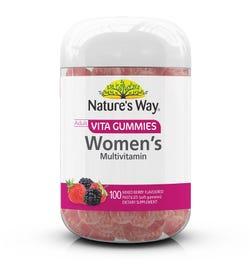 Nature's Way Adult Vita Gummies Women's Multivitamin Pastilles X 100