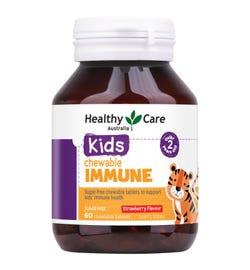 Healthy Care Kids Immune Chewable Tab X 60