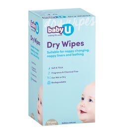 babyU Dry Wipes X 100