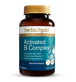 Herbs of Gold Activated B Complex Cap X 30