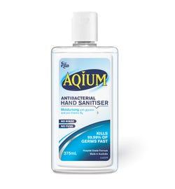 Ego Aqium Antibacterial Hand Sanitiser Liquid Refill 375ml