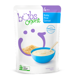Bubs Apple & Barley Lactose Free Toothy Rusks