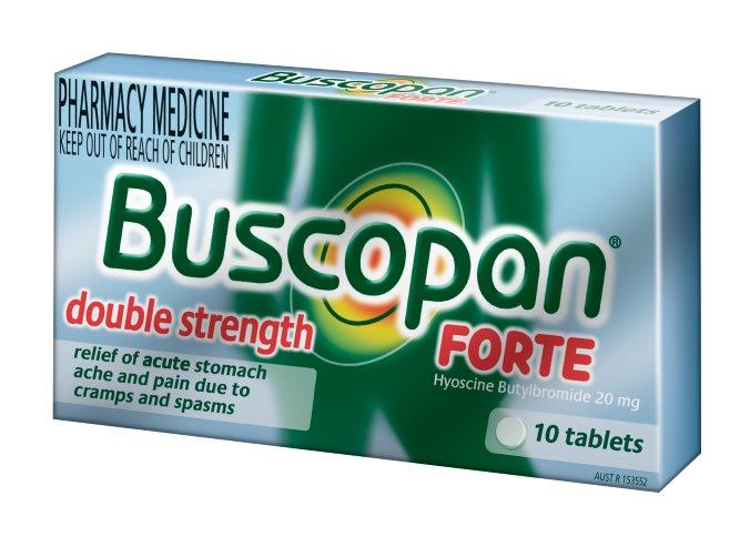 Buscopan Forte Tab 20mg X 10 9310717300173 | eBay