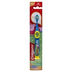 Colgate Toothbrush Junior Smiles Soft (Peppa Pig)  - Assorted Colours
