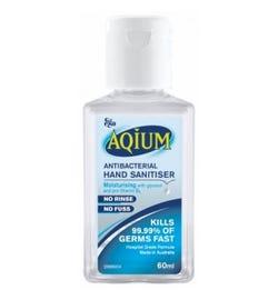Ego Aqium Antibacterial Hand Sanitiser Liquid 60ml