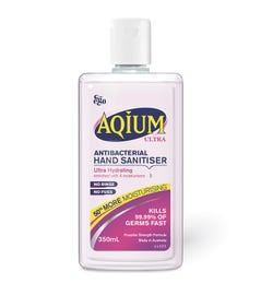 Ego Aqium Ultra Antibacterial Hand Sanitiser Liquid Refill 375ml
