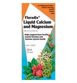 Floradix Liquid Calcium, Magnesium with Zinc & Vitamin D 250ml