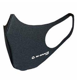 M-Brace Maximum Air Anti-Bacterial 3 Layer Face Mask Dark Grey - Regular
