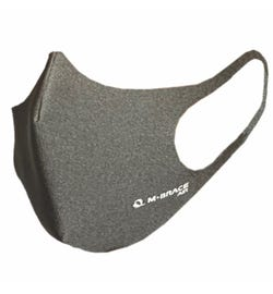 M-Brace Maximum Air Anti-Bacterial 3 Layer Face Mask Light Grey - Extra Large