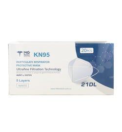KN95 Particulate Respirator Face Masks X 20