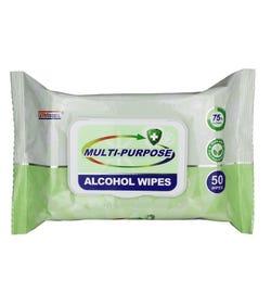 Germisept Multi-Purpose Alcohol Wipes X 50