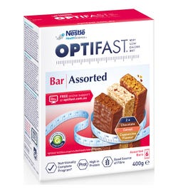 Optifast Bars Assorted Flavours X 6