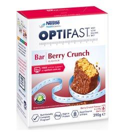 Optifast Bar Berry Crunch 65g X 6