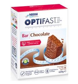 Optifast Bar Chocolate Flavour 70g X 6