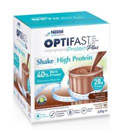 Optifast Protein Plus High Protein Shake (Chocolate) 63g X 10