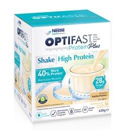 Optifast VLCD Protein Plus High Protein Shake (Vanilla) 63g X 10