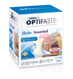 Optifast VLCD Milk Shake (Assorted) 53g X 10