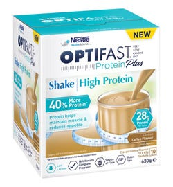 Optifast VLCD Protein Plus High Protein Shake (Coffee) 63g X 10