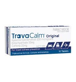 Travacalm Original Tab X 10