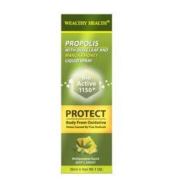 Wealthy Health Propolis with Olive Leaf and Manuka Honey Liquid Spray 30ml