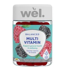 wel. by Nature's Way Balanced Multivitamin Gummies X 60