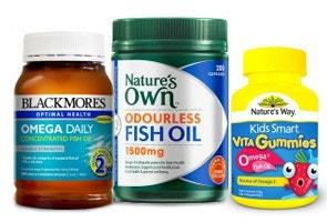 Fish oils and Omega 3, 6, 9